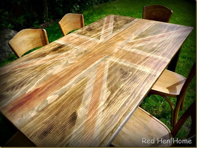 Red Hen Home Union Jack Table 2