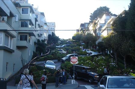 Vacanta San Francisco: Cea mai intortocheata strada