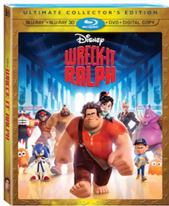 Wreck it Ralph Cover Art