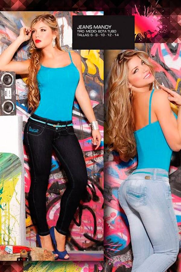 Angelica Jaramillo Y Sofia Jaramillo Modelando D'axxys Jeans