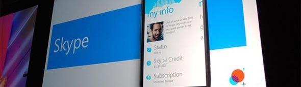 Propaganda do Skype mobile.