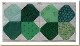 Two Green Shamrock blocks