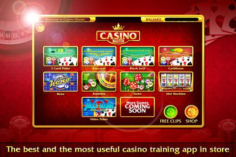 BlackJack Roulette Poker Slot - screenshot