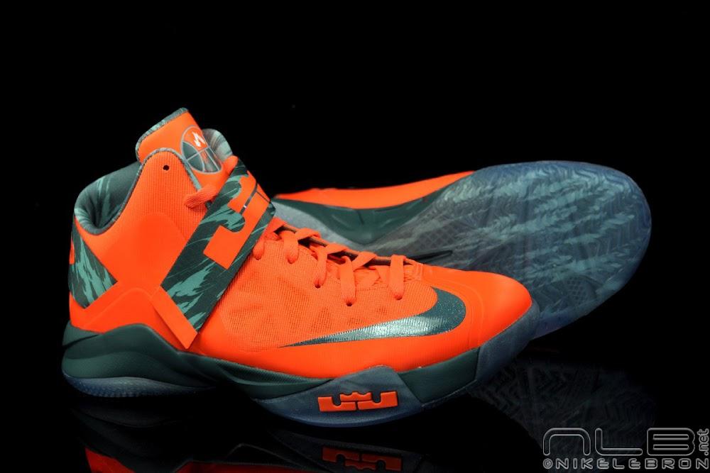 b1d1ee15b0ce The Showcase  Nike Zoom Soldier VI Orange   Hasta Camo .
