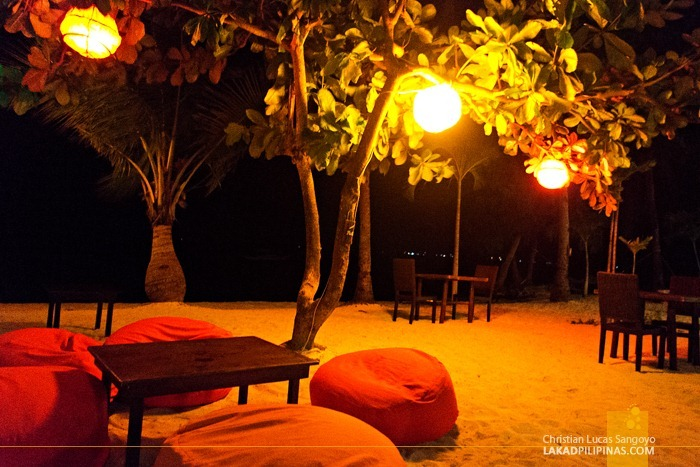 Al Fresco Dining at Ocean Vida Restaurant in Malapascua Island