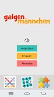 Screenshot of Hangman German