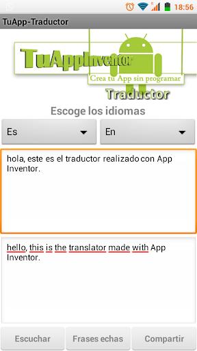 TuAppInventor-Traductor