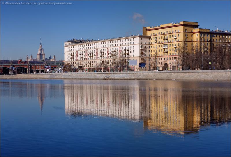 Московские набережные
