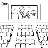 Dibujos De Cines Para Pintar