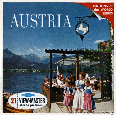 View-Master Austria (B198), Packet cover