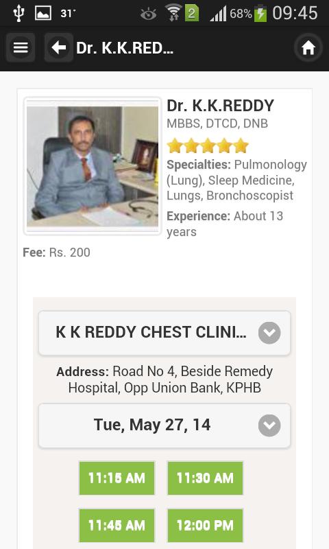 Dr casino pulmonology