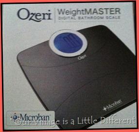 Ozeri WeightMaster Digital Bathroom Scale