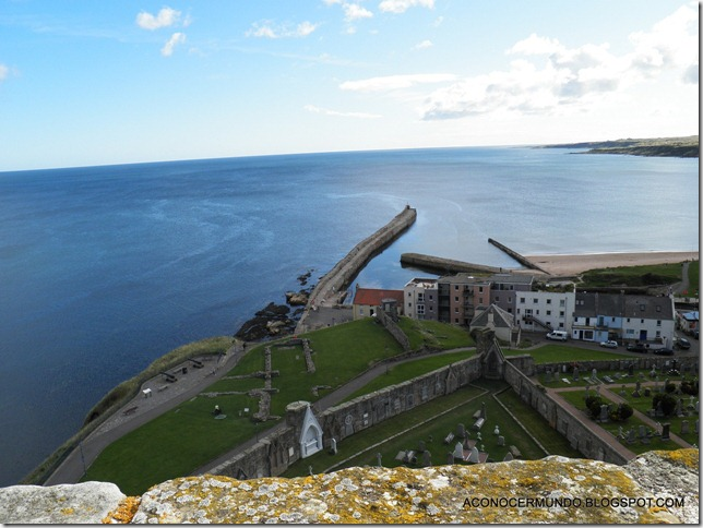 St. Andrews. Catedral. Panorámicas desde Torre de St. Rules-PA080445