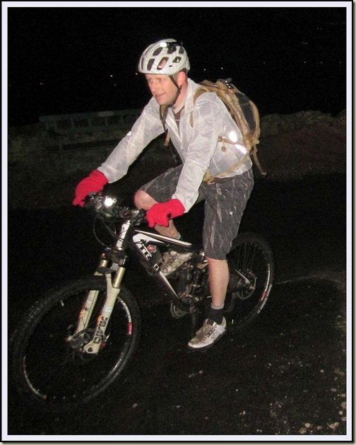 Walc 'leads' a 'night ride'
