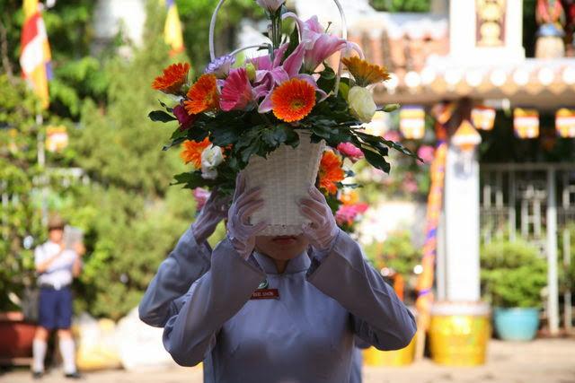 IMG 1787 Đại lễ Phật đản PL 2557 tại Tu viện Quảng Hương Già Lam