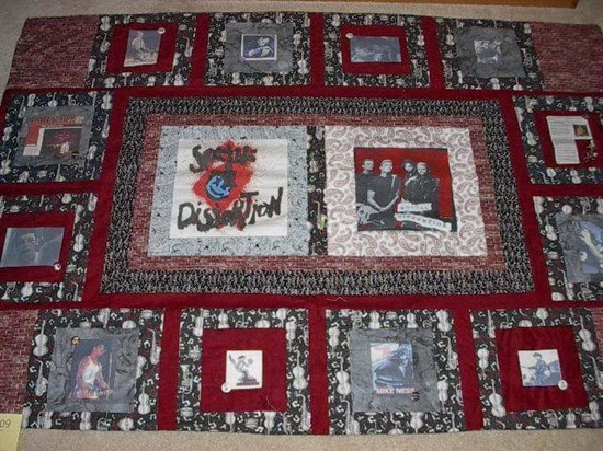 social distortion quilt