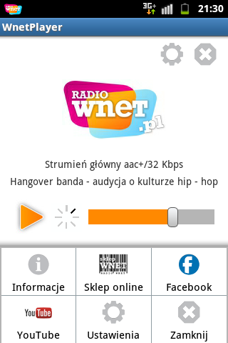 WnetPlayer - Radio Wnet