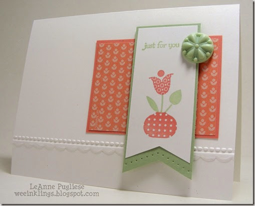 LeAnne Pugliese WeeInklings Paper Players 187 Bright Blossoms Stampin Up