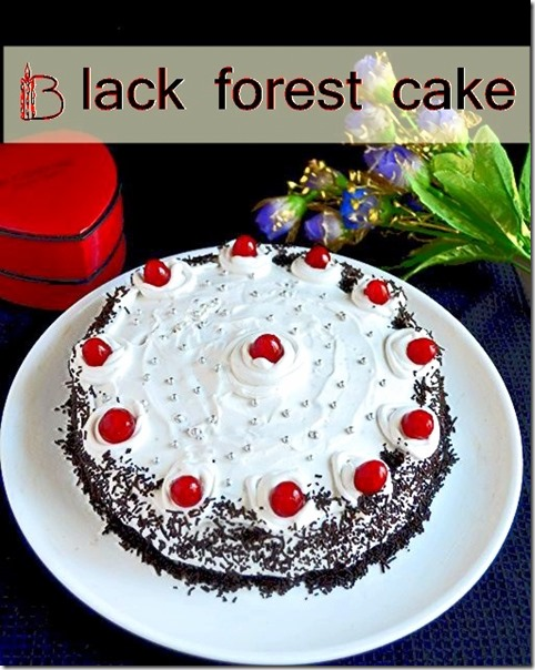BLack forest - cake