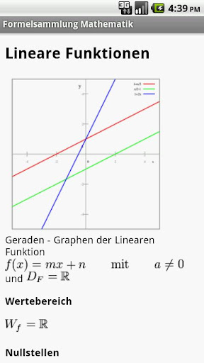 Formelsammlung Mathematik Pro v1.2 German