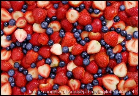 B is for Berries at Circling Through This Life