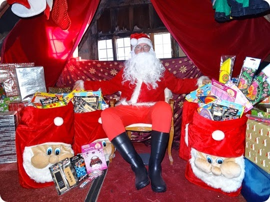 Rotary Club of Nantwich - Santas Grotto 2014