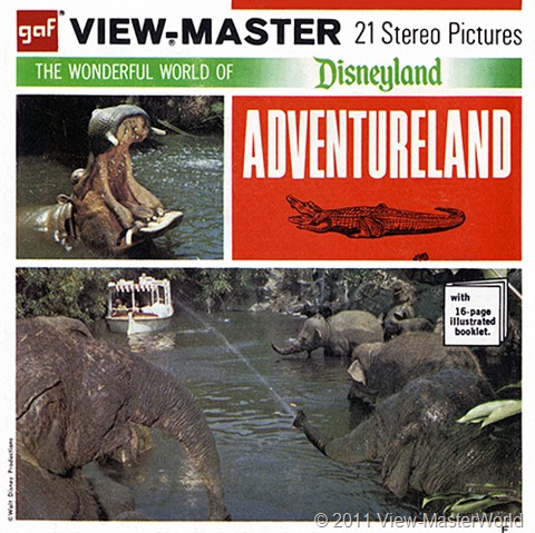 View-Master Adventureland (A177), Packet Cover