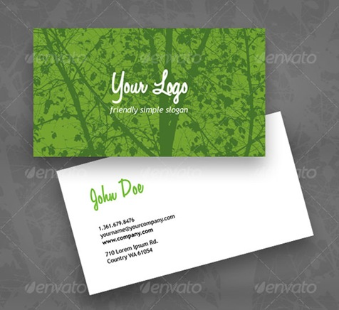 Eco-Green-business-card