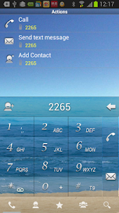 RocketDial SeaShore Theme (HD) - screenshot thumbnail
