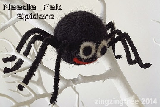 Needle-felt-spiders