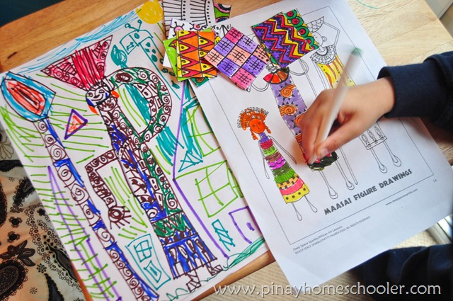 Africa Continent Art Activity