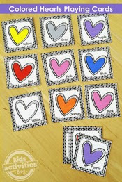 Kids Activities Blog - Printable Hearts