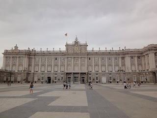 Palais royal à Madrid