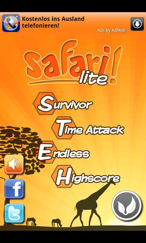 Safari! lite- screenshot
