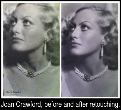 joan crawford retouched