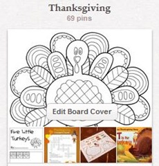 Thanksgiving Pinterest Board
