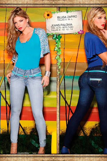 Angelica Jaramillo y Sofia Jaramillo Axxys Jeans Foto 33