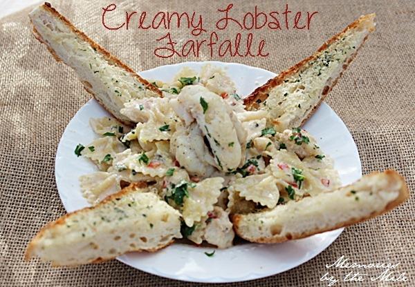 Creamy Lobster Farfalle