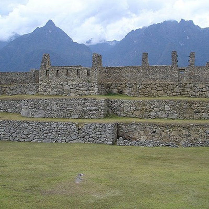 Machu Picchu, the lost city of the Inca emperor Pachacutec built.