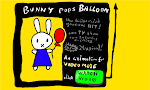 [Video] Bunny pops Balloon