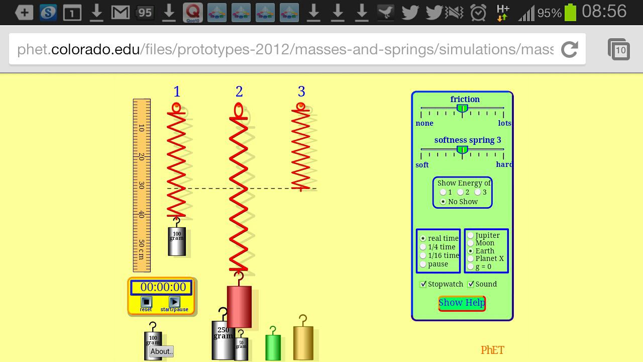 Phet lab 16 - Homework Example