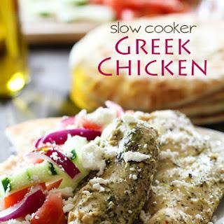 Slow Cooker Greek Chicken.