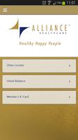 Screenshot of AllianceHealthcare