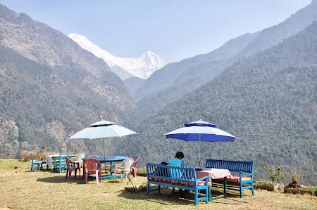 Pranz - trekking in Himalaya.