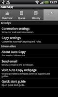 Screenshot of Auto Copy