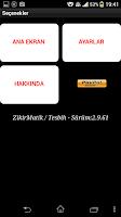 Screenshot of ZikirMatik / Tesbih