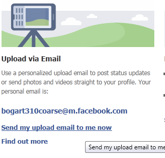 facebook mobile email