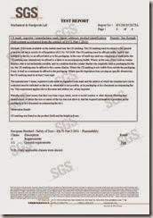 SGS Test Report - 球EN71-1-2