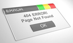 Blogger 404 error page not found redirect