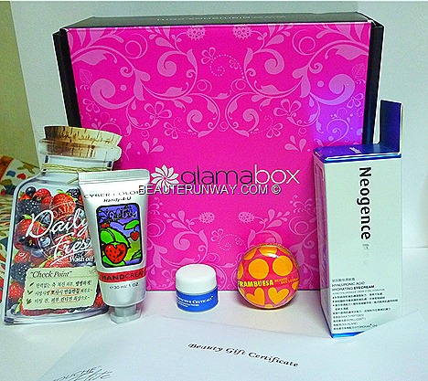 GLAMABOX Neogence eye cream hyaluronic acid SINGAPORE BEAUTY PRODUCTS SUBSCRIPTIONS BY LISA S.